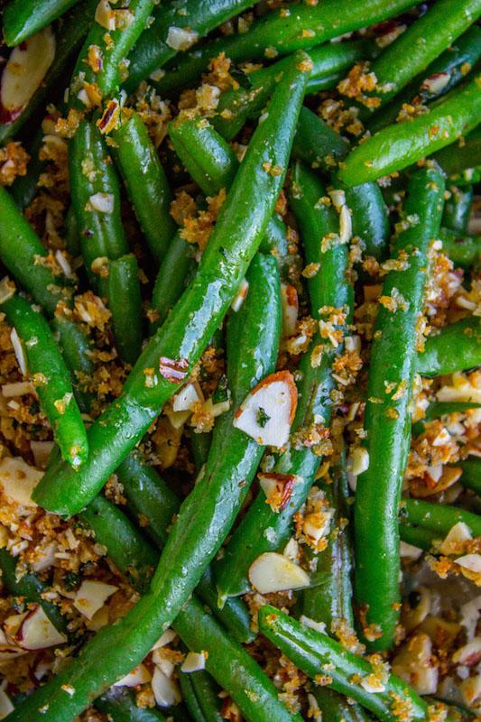 Make Ahead Green Bean Casserole - Make Ahead Thanksgiving Recipes