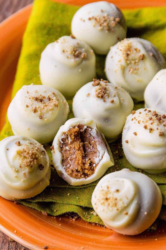 Pumpkin Spice Truffles - Make Ahead Thanksgiving Dessert Recipes