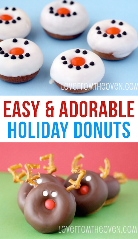 Best Christmas Breakfast Recipes - Adorable Christmas Donuts