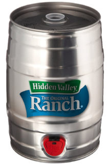 You Can Now Buy Ranch Kegs From Hidden Valley