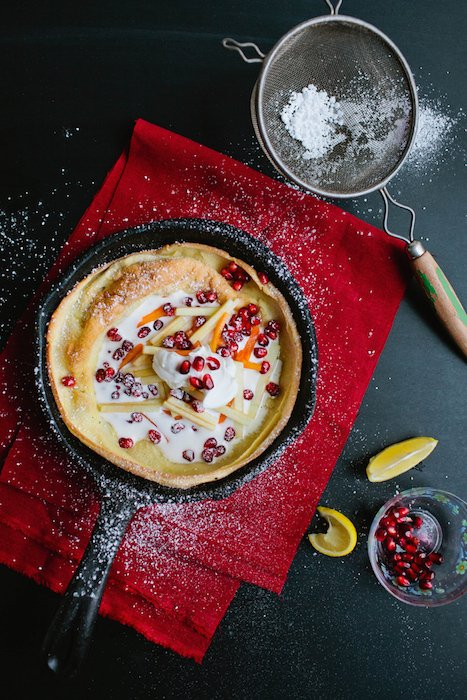 Christmas Holiday Dutch Baby - Best Christmas Breakfast Recipes