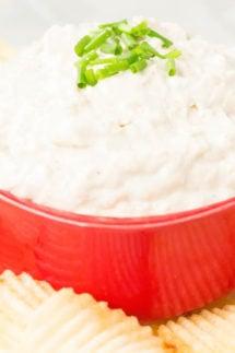 Instant Pot Caramelized Onion Dip Recipe