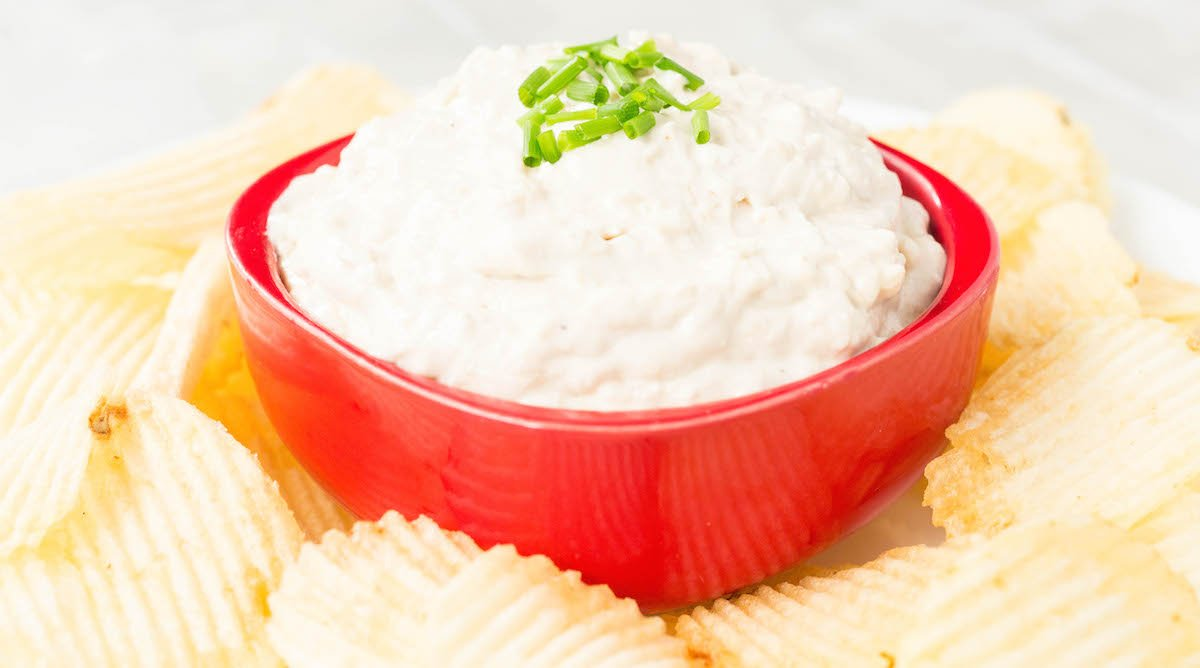 Instant Pot Caramelized Onion Dip Recipe