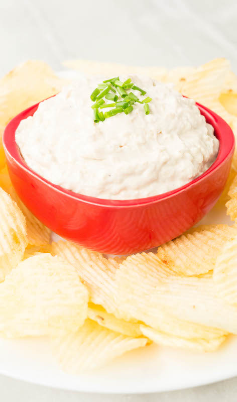 Instant Pot Caramelized Onion Dip - Instant Pot Recipes
