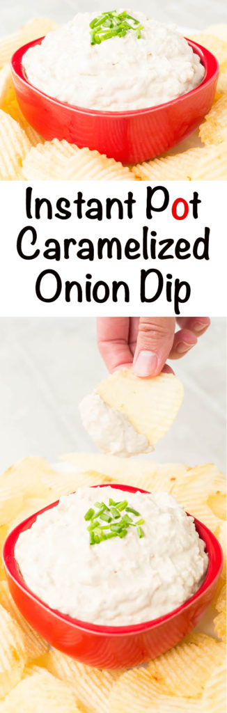 Instant Pot Recipe for Caramelized Onion Dip