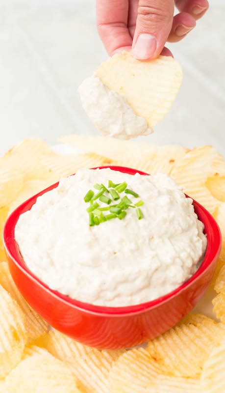 Make caramelized onion dip in the Instant Pot with this easy recipe!