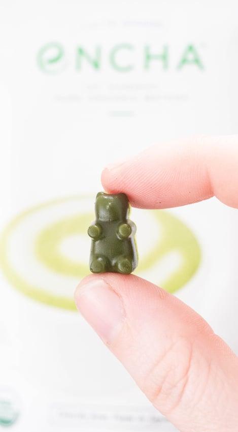 How to make homemade matcha gummy bears recipe