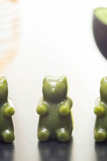 Homemade Matcha Gummy Bears Recipe