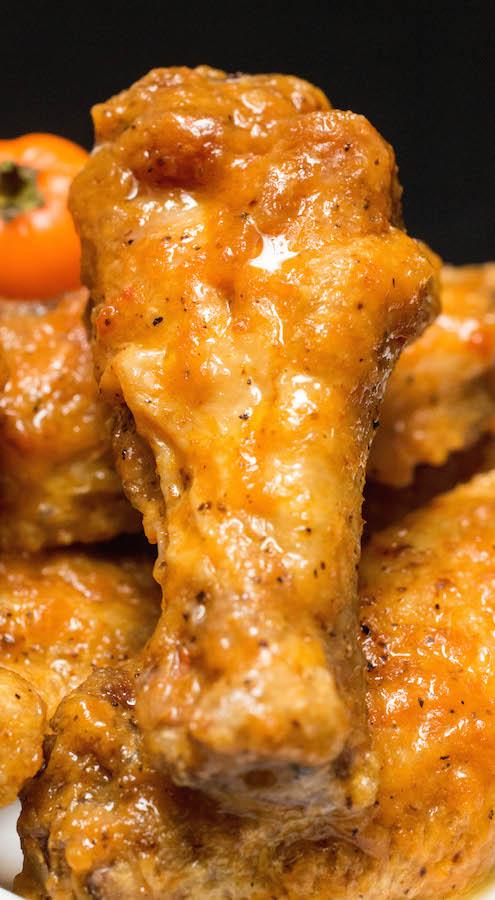 Secret Aardvark Habanero Hot Sauce Chicken Wings
