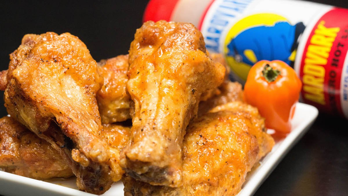 Secret Aardvark Chicken Wings Recipe Cooking With Janica