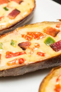 Pimento Cheese Potato Skins Recipe