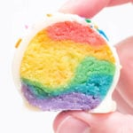 Rainbow Cake Truffles
