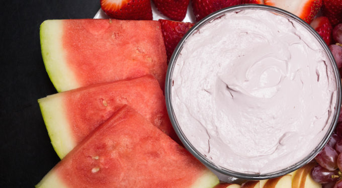 Red Wine Fruit Dip Recipe