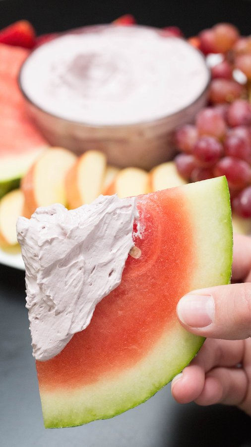 Red Wine Fruit Dip Recipe