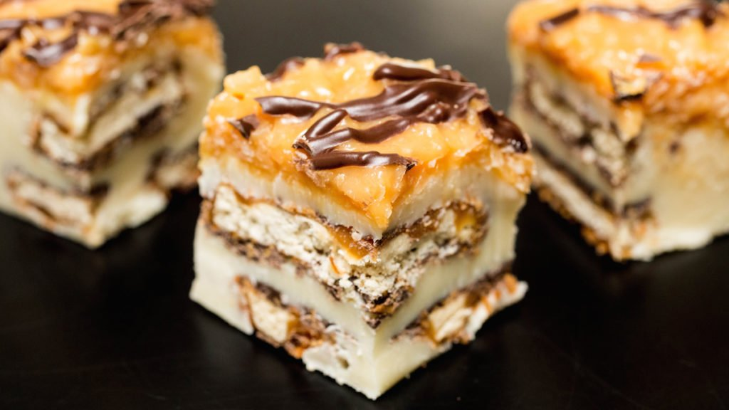 Samoa Girl Scout Cookie Fudge Recipe