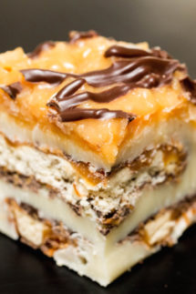 Samoas Girl Scout Cookie Fudge Recipe