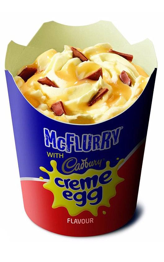 Where To Get McDonalds Cadbury Creme Egg McFlurry