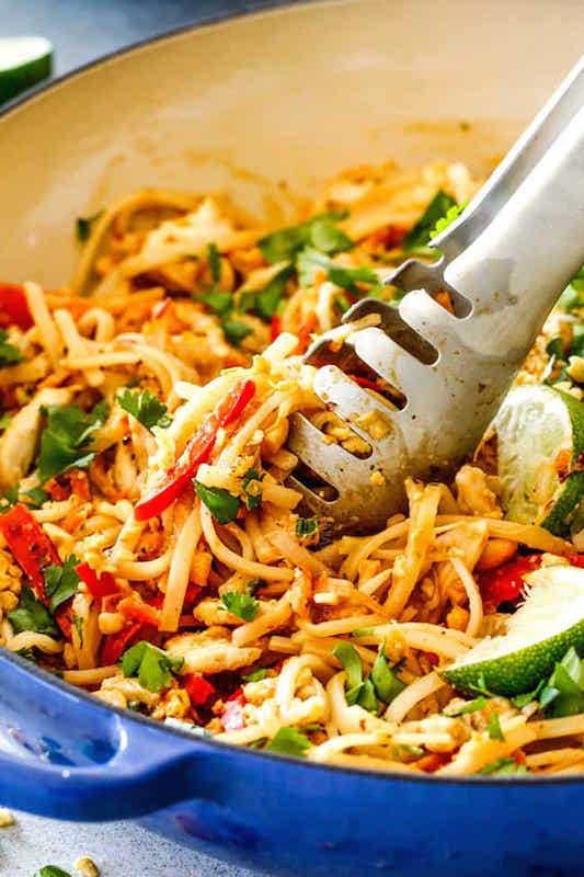 30 Minute Chicken Pad Thai Recipe