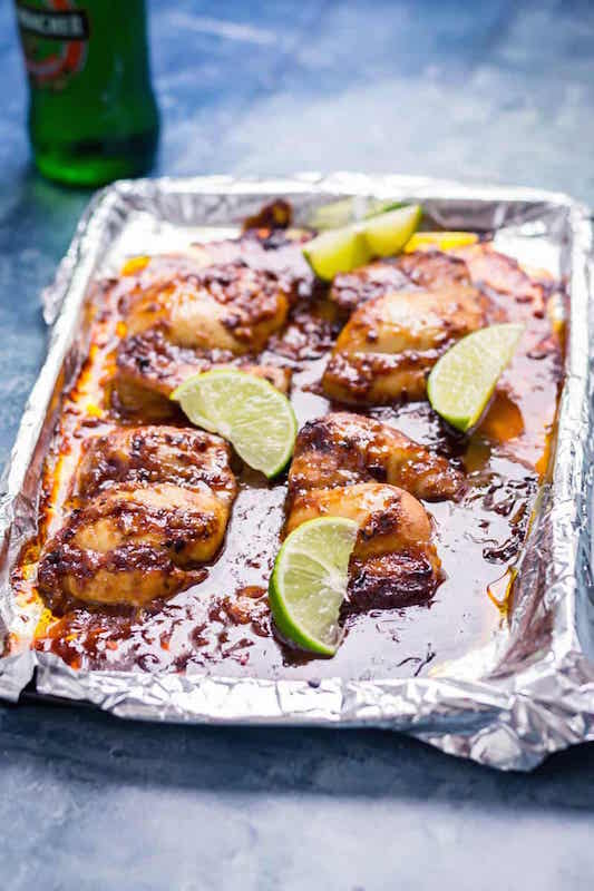 Honey Chipotle Chicken - Chicken Dinner Recipes You Can Make In Under 30 Minutes