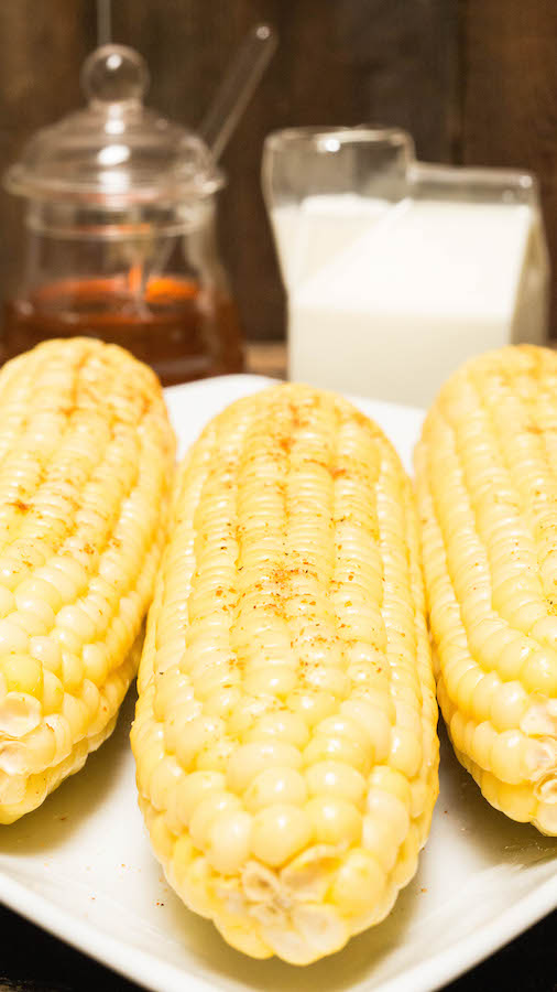 How To Make Instant Pot Corn on the Cob with Milk and Honey
