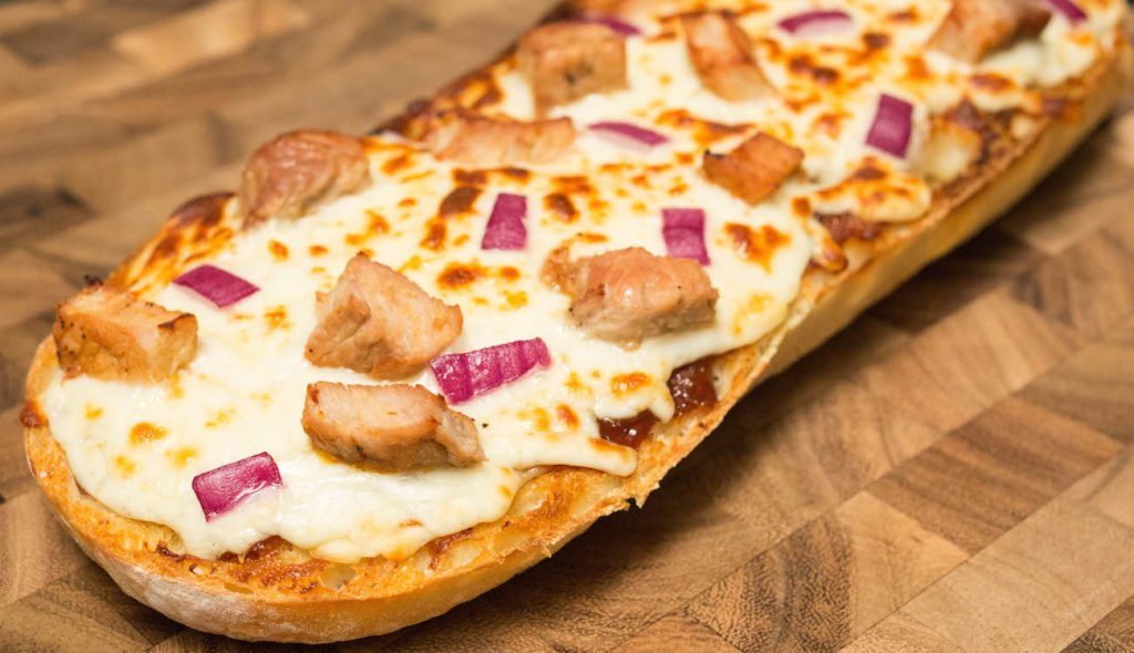 BBQ Pork French Bread Pizza Recipe