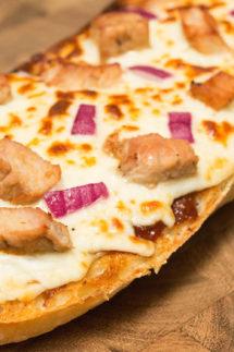 BBQ Pork French Bread Pizza Recipe