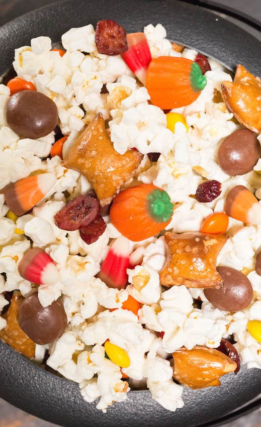 Halloween Movie Snack Mix Recipe