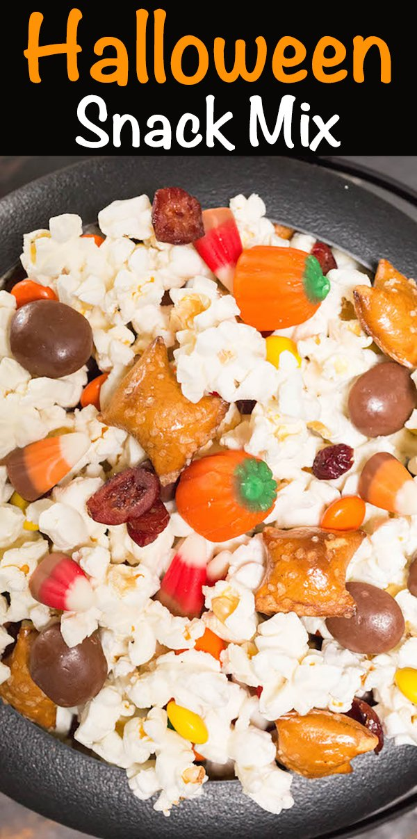 Halloween Movie Snack Mix