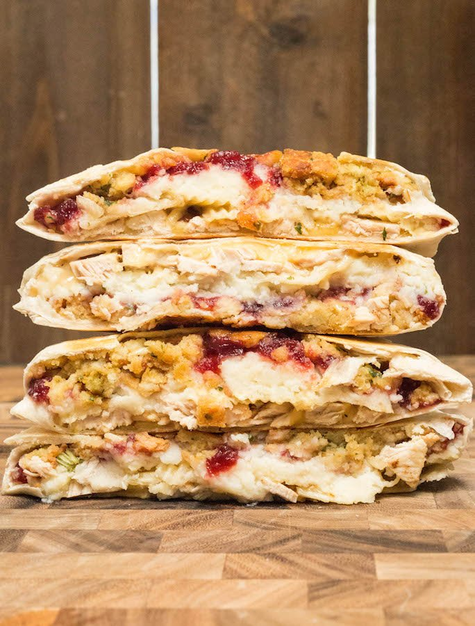 Thanksgiving Leftovers Crunchwrap
