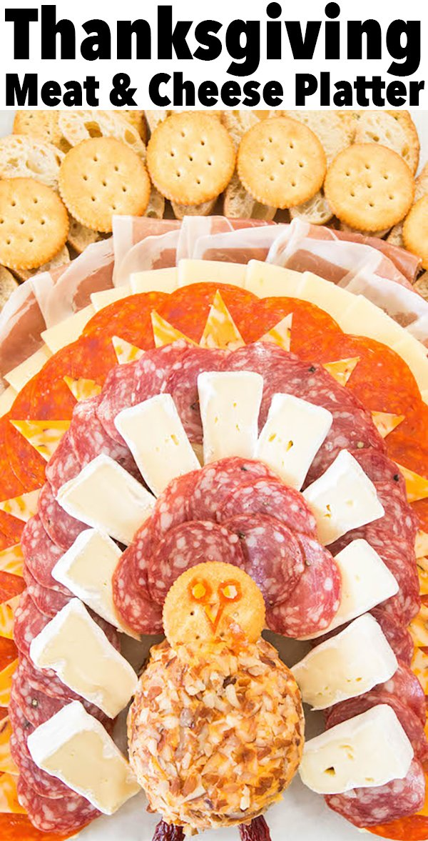 Thanksgiving Meat & Cheese Platter