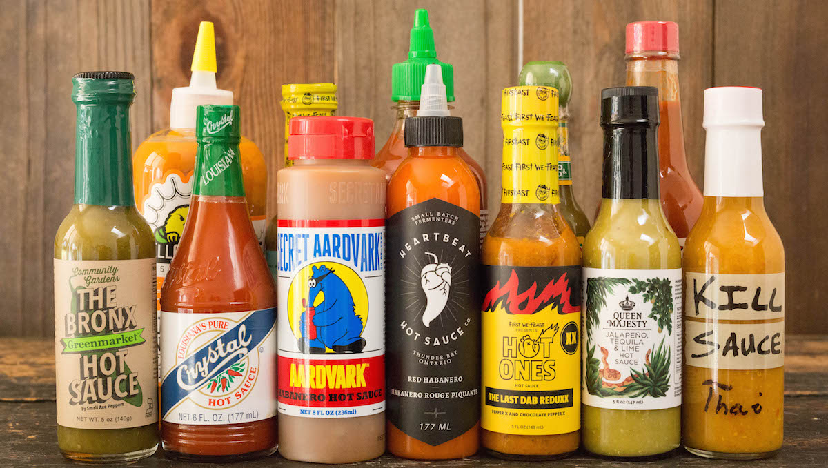 The Best Hot Sauces