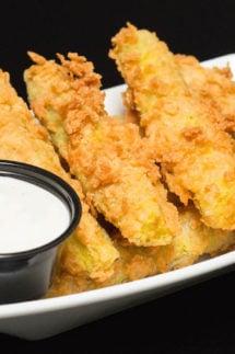 Chicken Fried Pickles Recipe