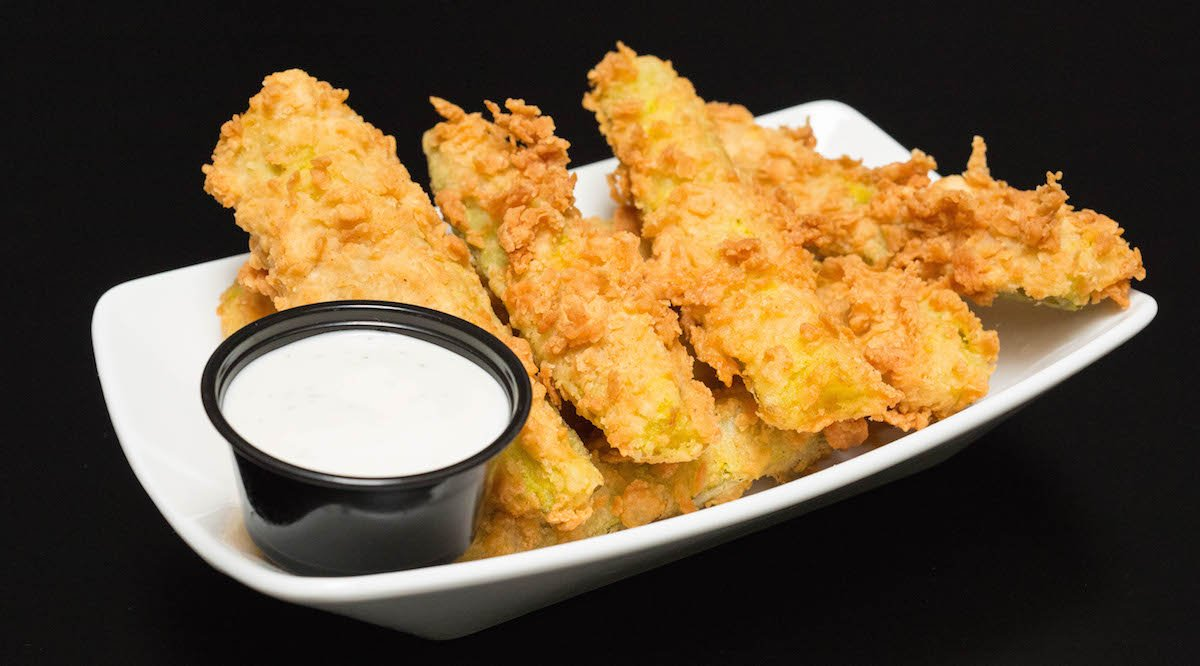 Chicken Fried Pickles Recipe