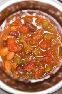 Wendys Chili Recipe in Instant Pot