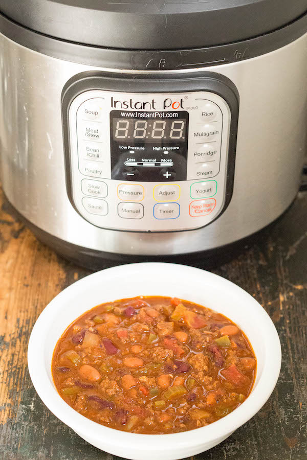Wendy's Instant Pot Chili
