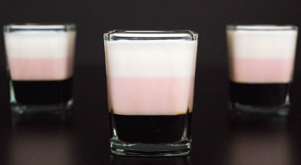 Neapolitan Shots Recipe