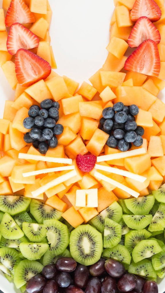 Easter Bunny Fruit Tray Recipe
