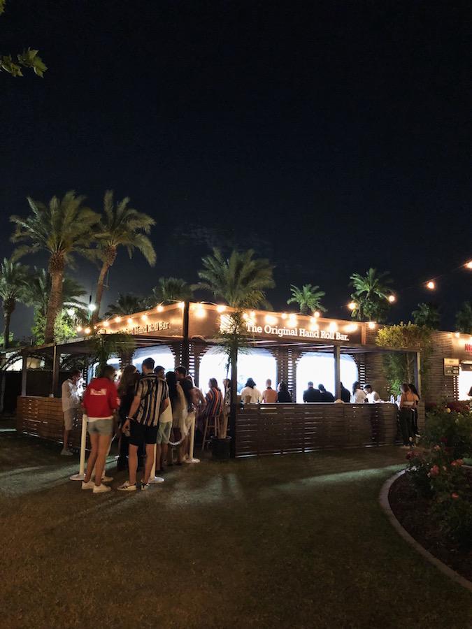 Coachella VIP Rose Garden