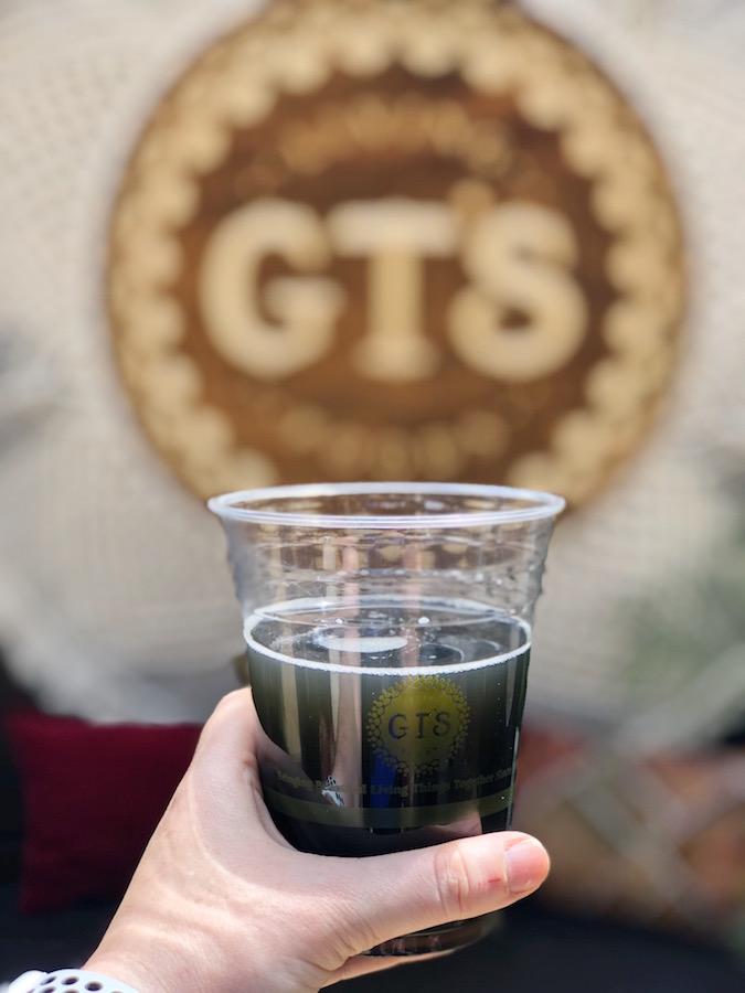 GT's Black Magic Kombucha at Coachella
