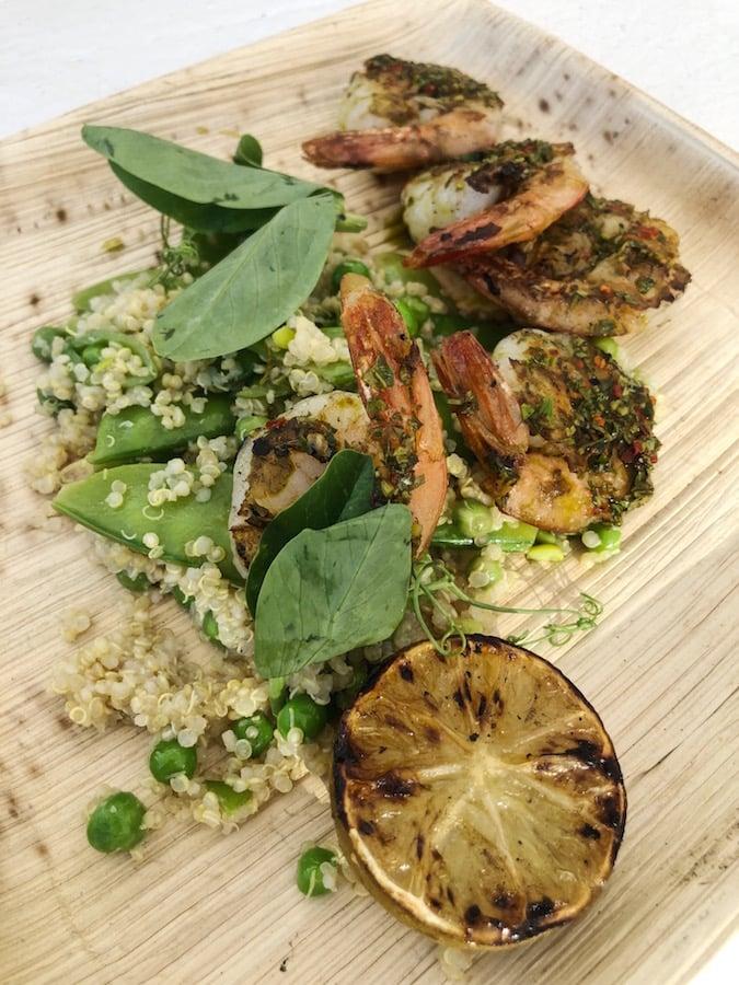 Coachella Food - Gwen - Grilled Shrimp