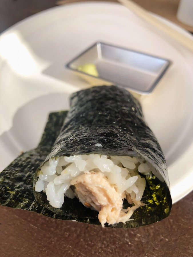 Coachella VIP Food - Sushi Hand Roll Bar