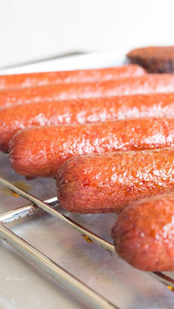 Smoked Hot Dogs Recipe