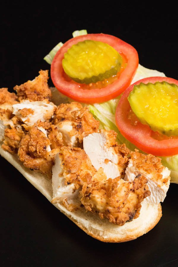 Chicken Tender Sub Sandwich Recipe