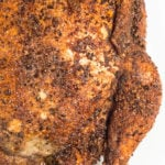 Sweet & Spicy Coffee Rubbed Smoked Chicken Recipe