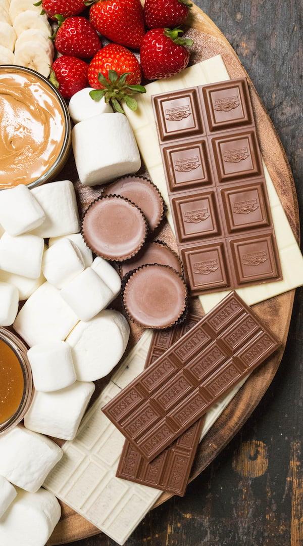 S'mored Board Chocolate Ideas