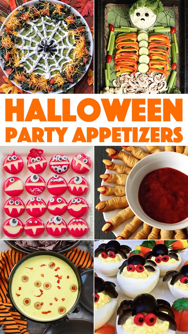 Halloween Party Appetizers Cooking With Janica