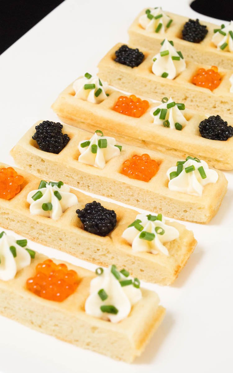 Caviar Waffle Sticks