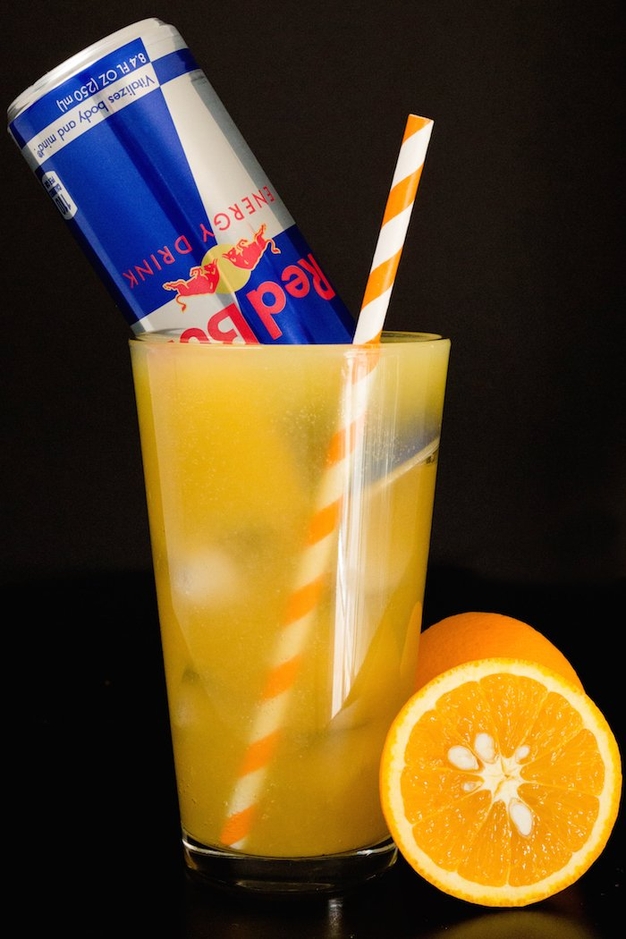 Red Bull Vitamin C Cocktail