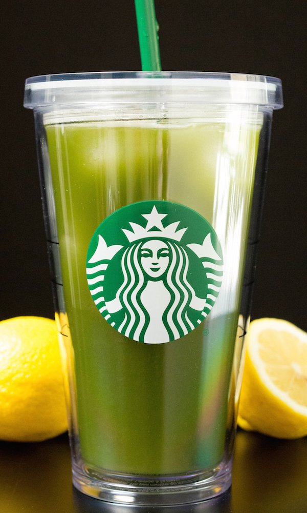 Homemade Starbucks Matcha Lemonade in a grande cup